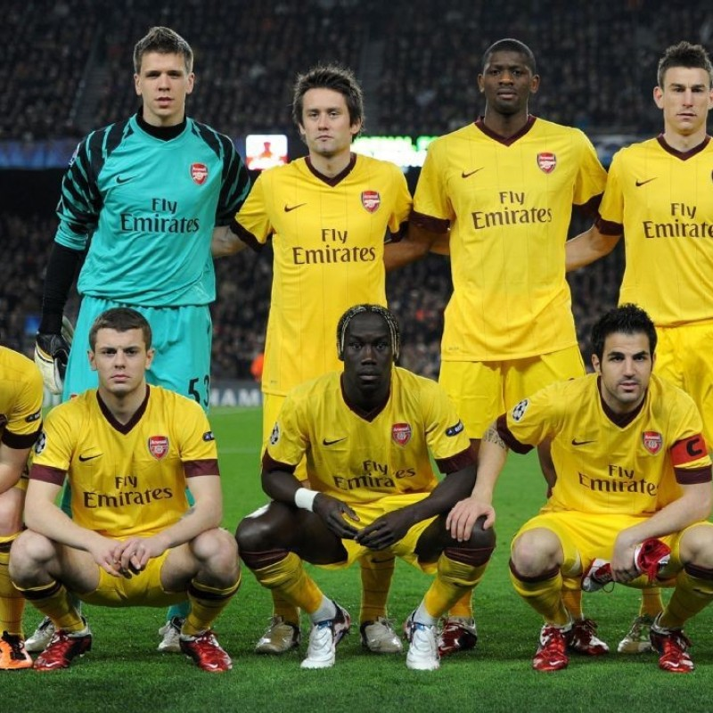 Song's Match-Issued/Worn Arsenal Shirt, 2010/2011 Champions League
