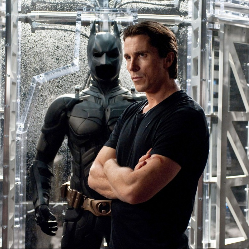 "Christian Bale Hand Signed ""Dark Knight"" Script"