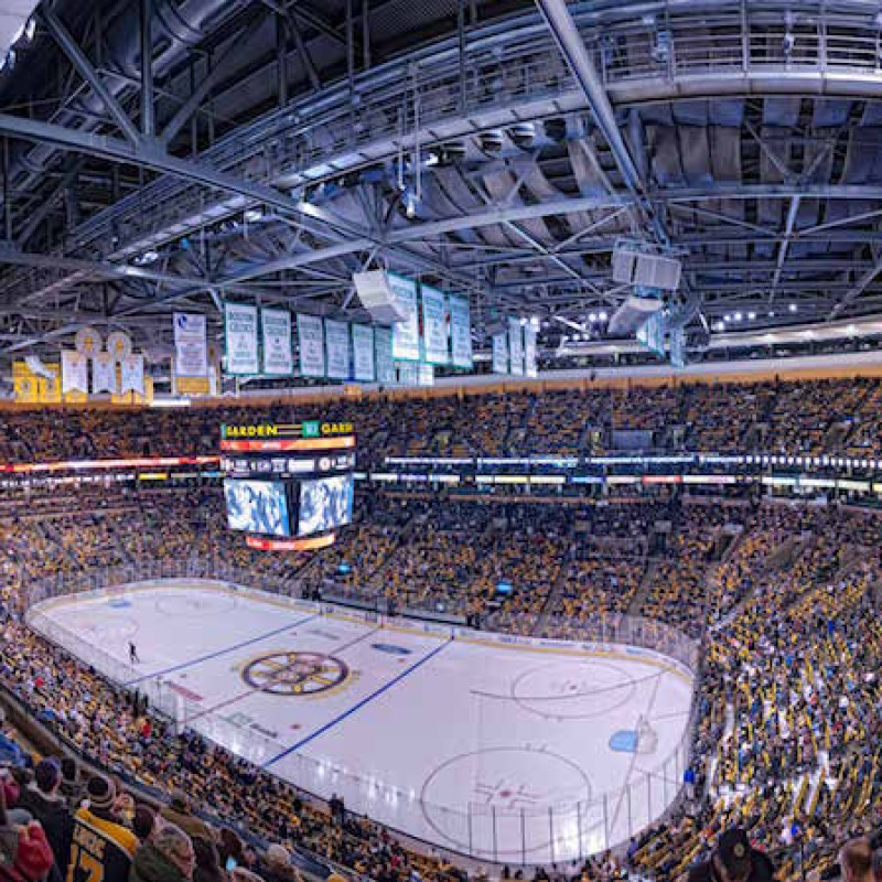 4 Glass Seats to See the Boston Bruins vs Buffalo Sabres on January 5, Including Airfare