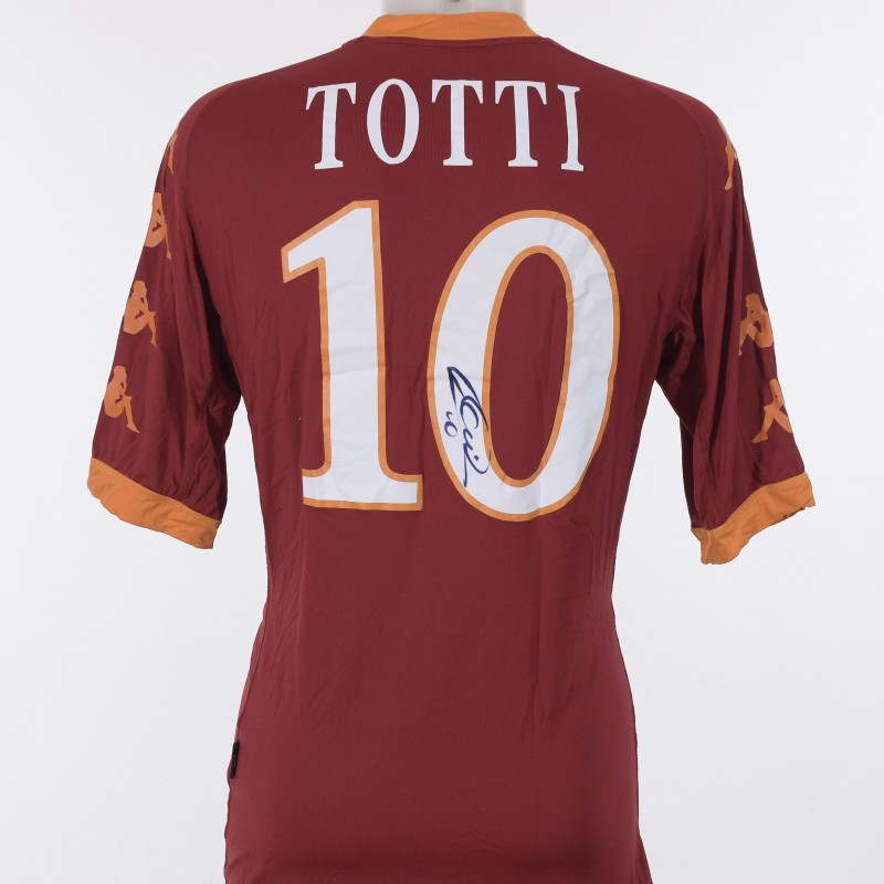 Maglia Francesco Totti 2010/2011 - Autografata