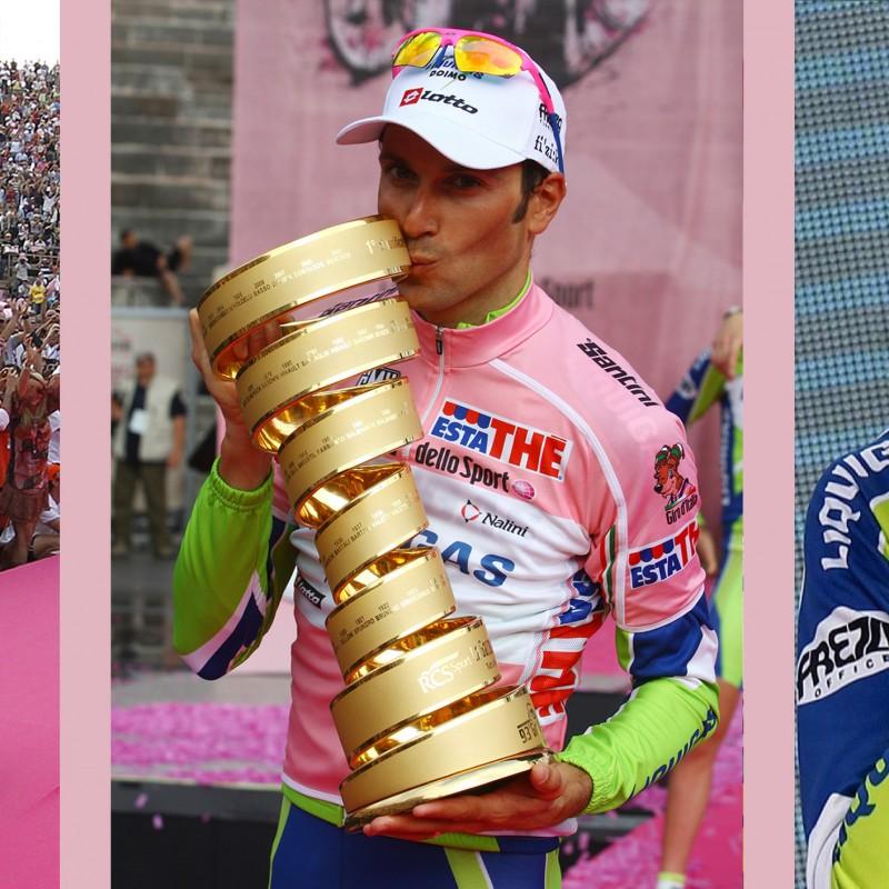 Pink Cycling Jersey Worn by Ivan Basso - Giro d'Italia 2010