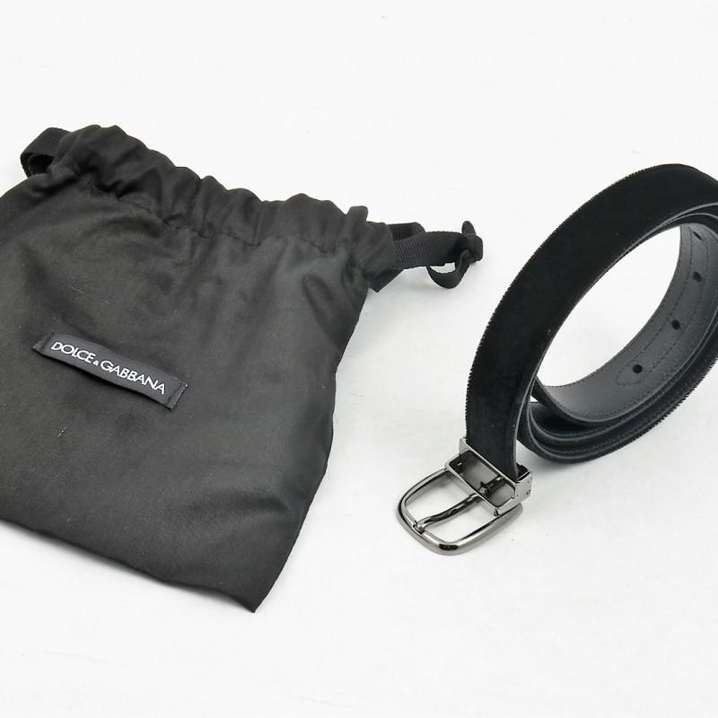 Tiziano Ferro's Black Velvet Belt