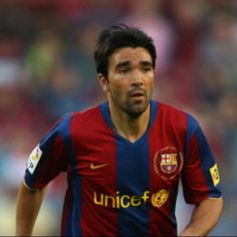 Deco's Official Barcelona Signed Shirt, 2007/08