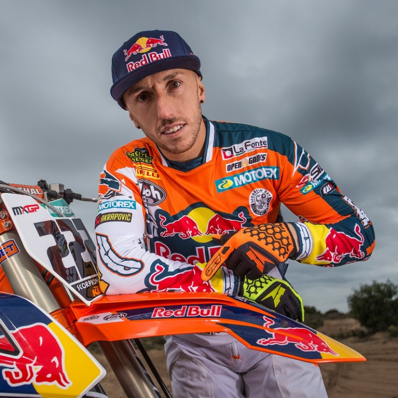 Tony Cairoli's Signed Worn Racing Suit