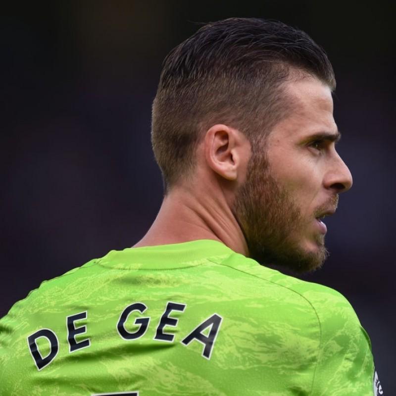 De Gea's Manchester United Match Shirt, 2019/20