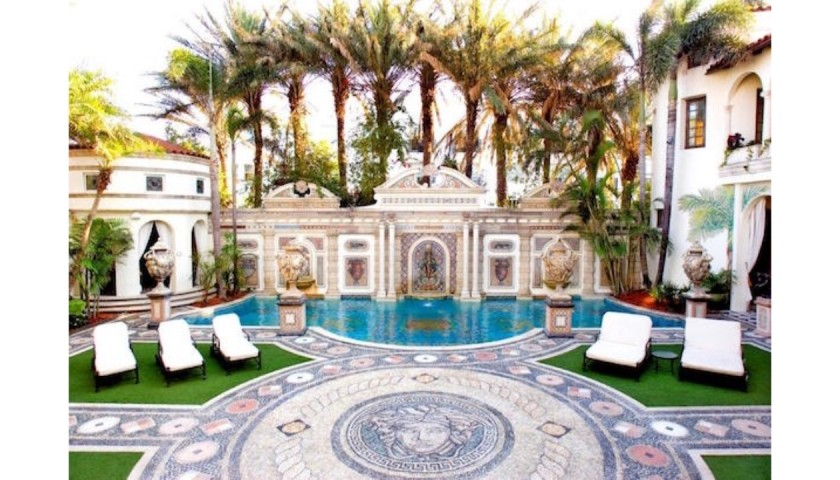 Three-Night Stay at Historic Versace Mansion in Miami