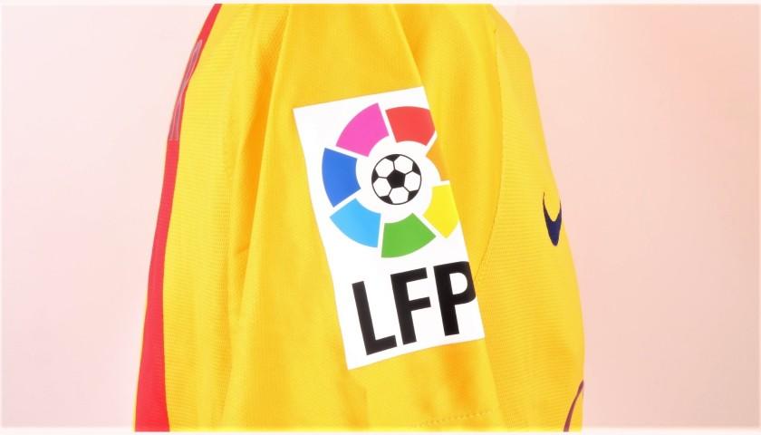 low priced 38e80 2c15a Neymar's Barcelona Match Shirt, LFP 2015/16 - CharityStars