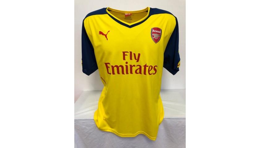 Sanchez's Official Arsenal Signed Shirt, 2014/15