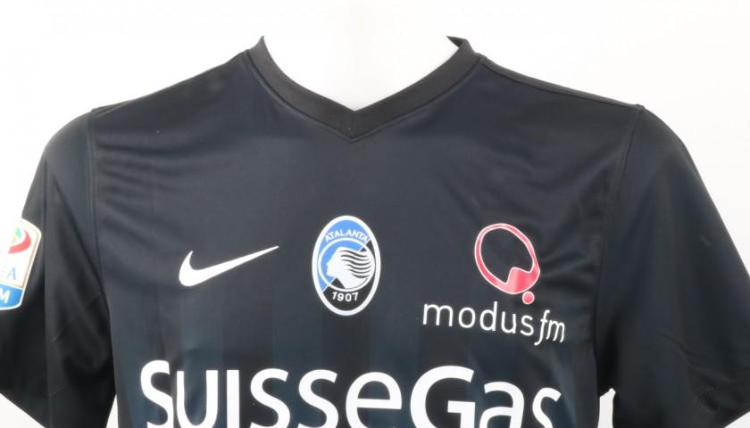 Papu Gomez Atalanta Match Worn Shirt, Serie A 2016/17