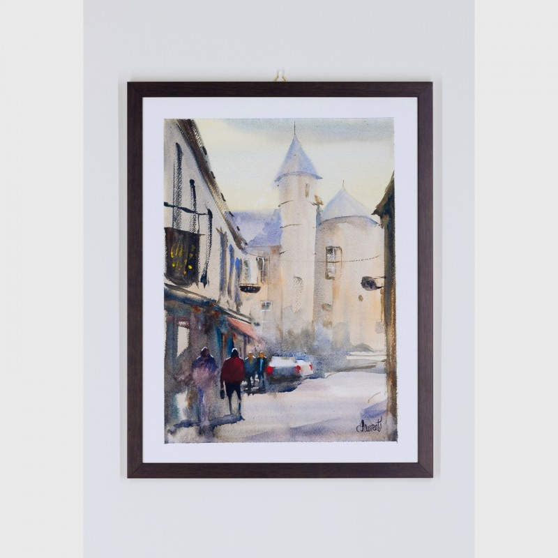 """Bretagne - Pont L'Abbe"" di Philippe Laurent"