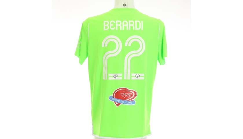 Berardi's Match-Issued Shirt, Hellas Verona-Atalanta 2020