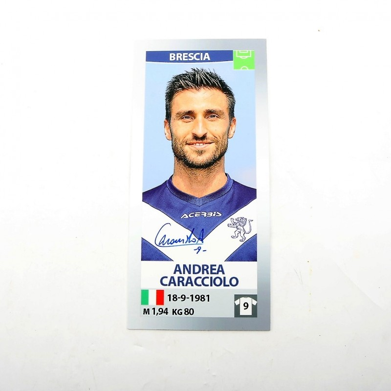 Caracciolo, Limited Edition Box and Signed Maxi Sticker
