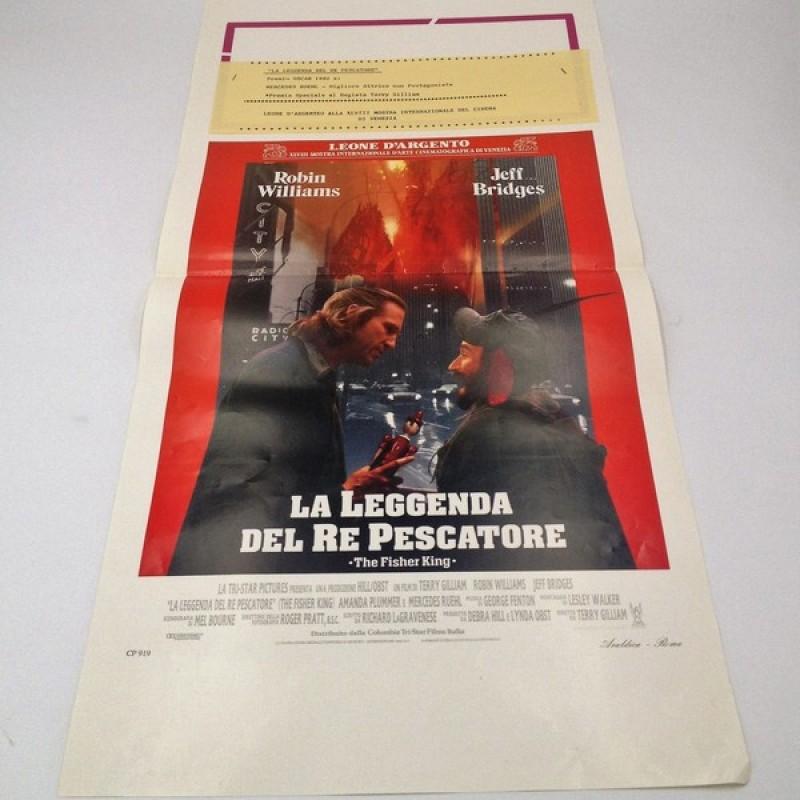 """""""La leggenda del re pescatore"""" Italian Language Poster, 1991"""