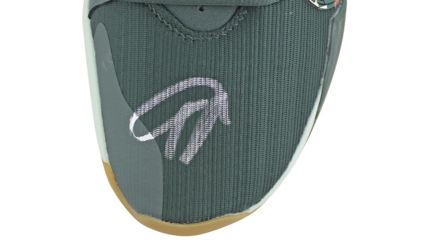 Giannis Antetokounmpo Signed Shoe