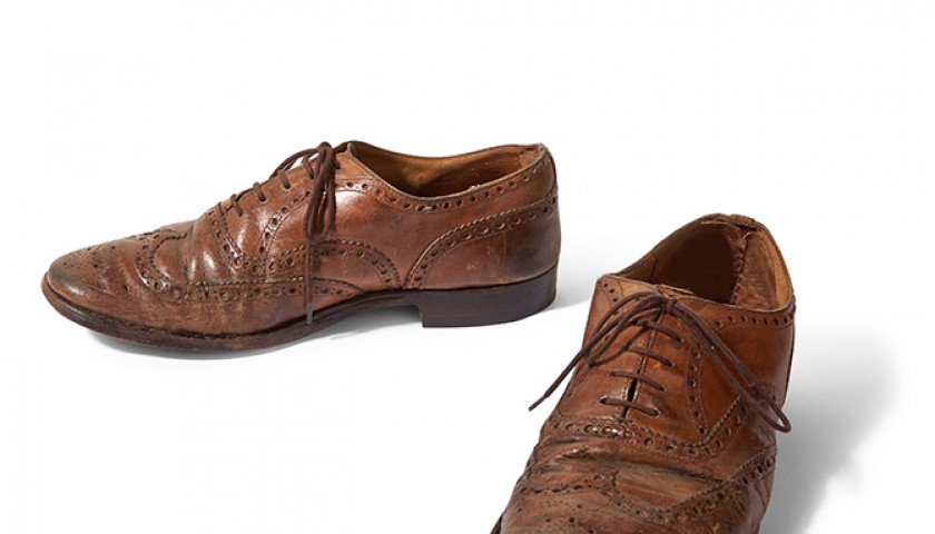 Dan Michaelson's Autographed Church's Brogues from his Personal Collection