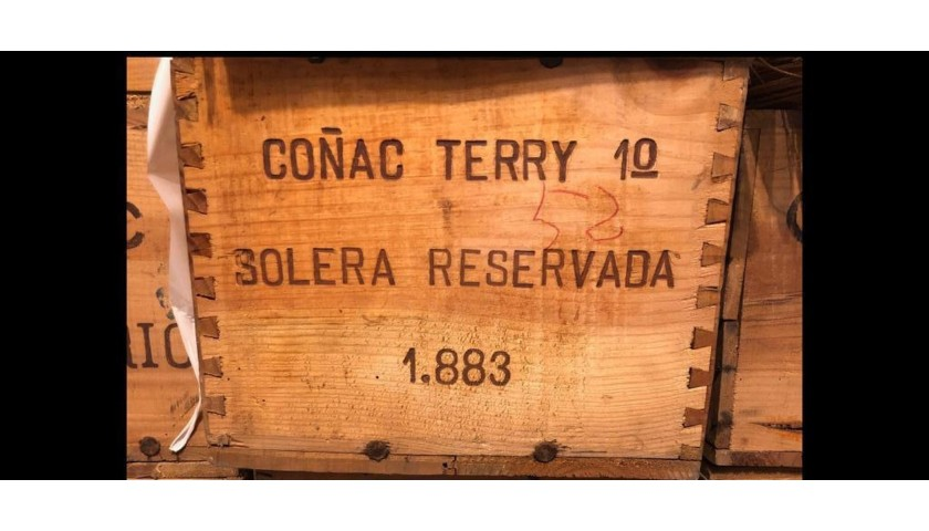 Magnificent TERRY 1º Bottle Year 1883