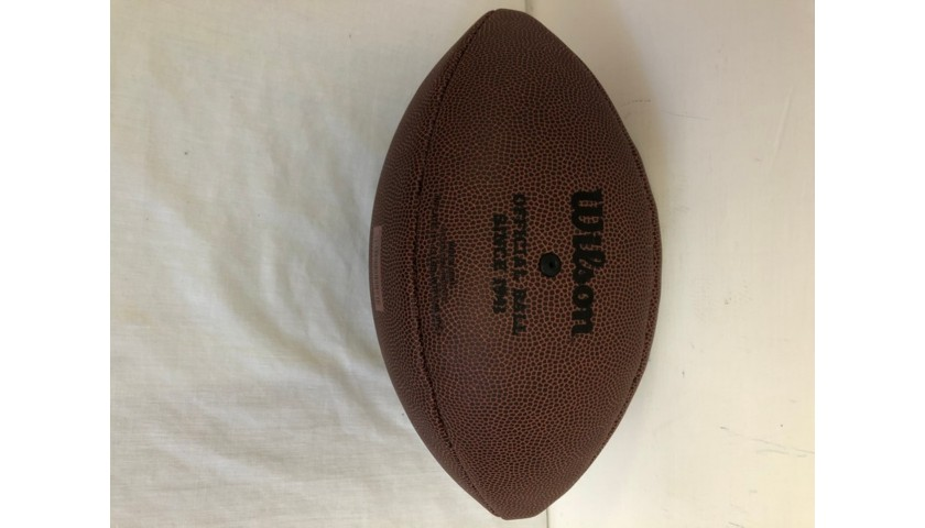 Official NFL New England Patriots Football - Signed by Tom Brady