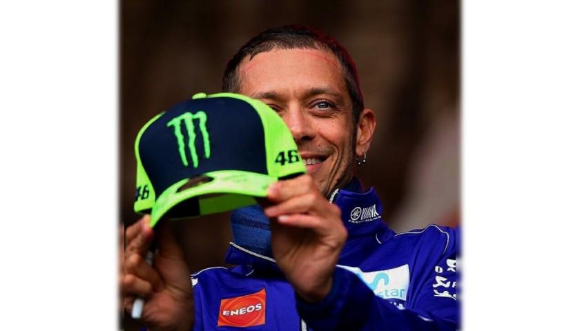 Valentino Rossi Signed Monster Cap