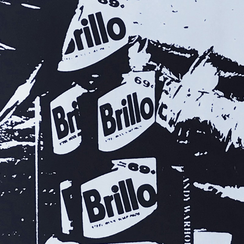 """""""Brillo's Boxes"""" by Andy Warhol"""