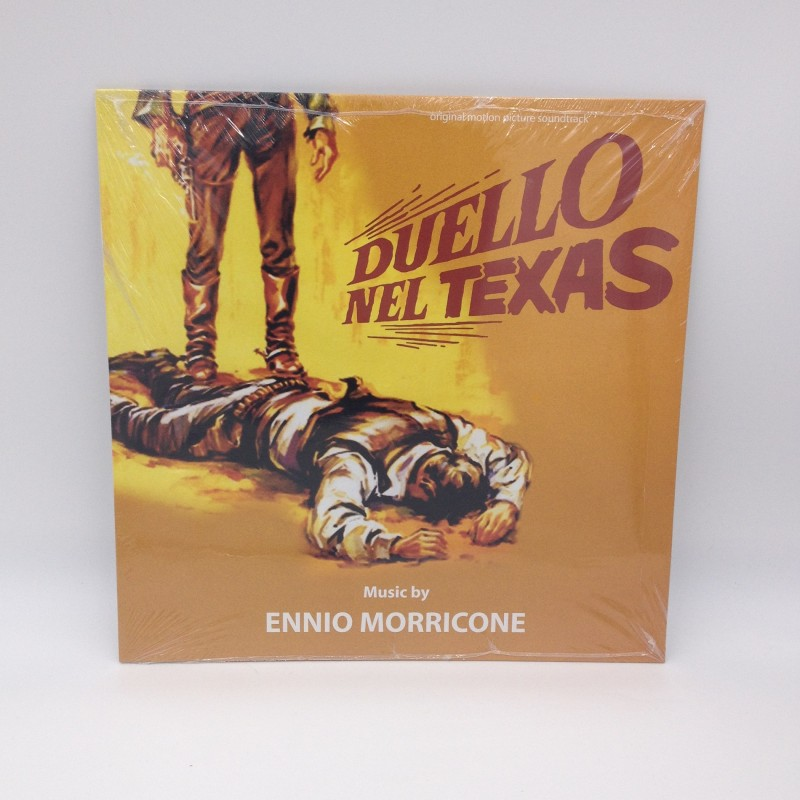 """Duello nel Texas"" Limited Edition LP by Ennio Morricone"