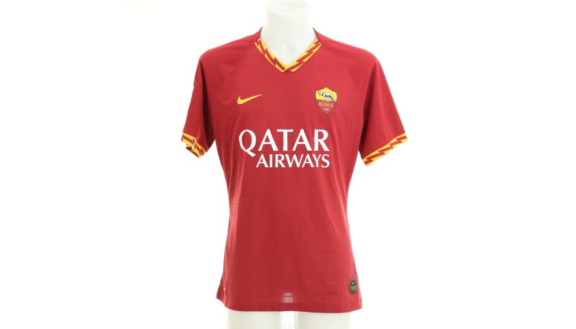 Smalling's Issued and Signed Shirt, Roma-SPAL 2019