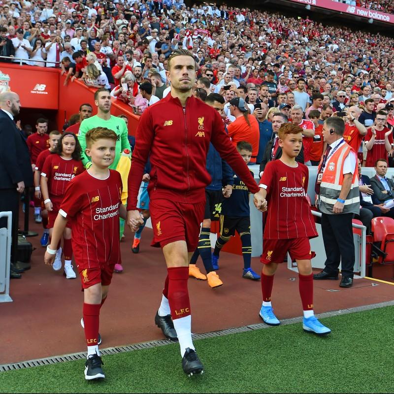 Mascot Package for Liverpool FC vs Tottenham Hotspur