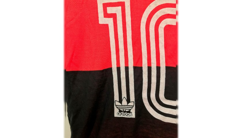 Zico's Flamengo Worn Shirt, 1980s
