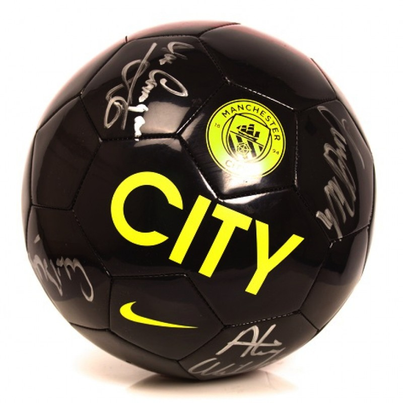 Signed Manchester City Legends Ball