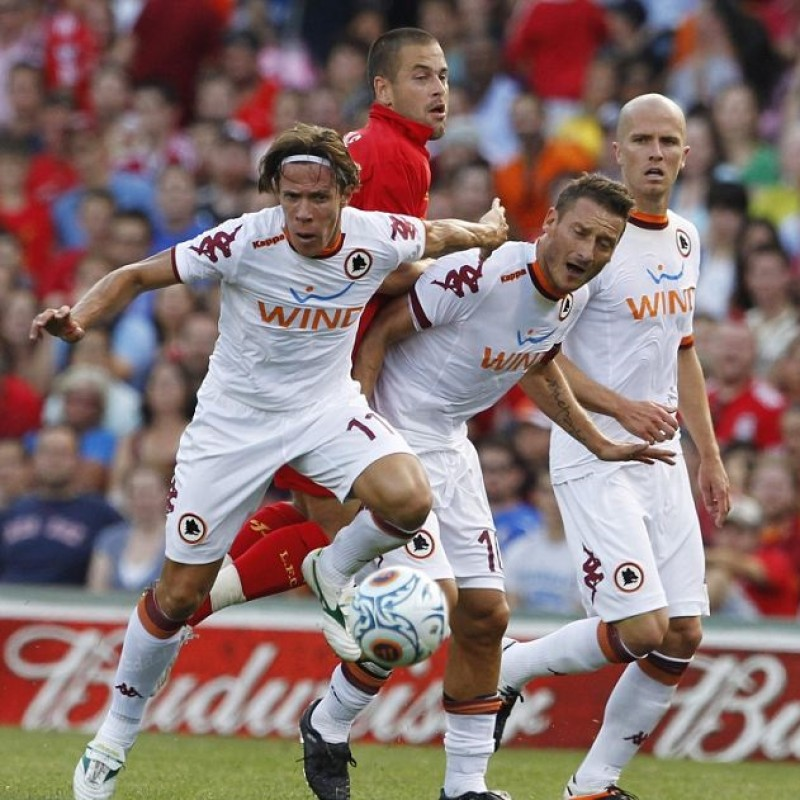 Totti's Match Shirt, Roma-Liverpool 2012