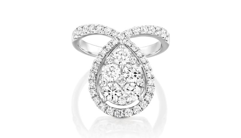 Stunning Diamond ring by House of Oliva