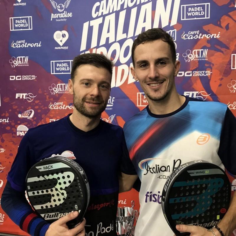 Take on Italian Paddle Tennis Champions Simone Cremona and Daniele Cattaneo