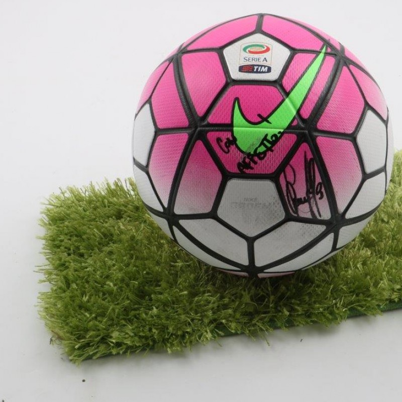 Official Serie A 15/16 ball - signed by Marchisio