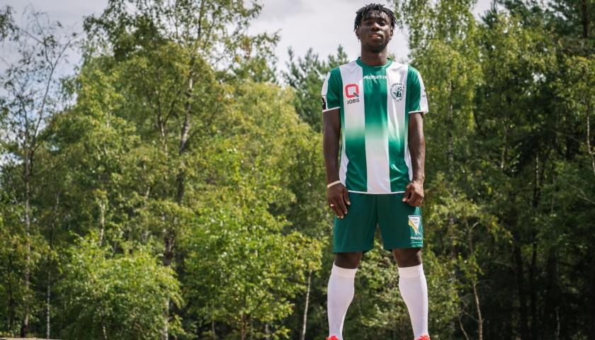 Lommel SK New Shirt 2020-2021 Signed by Jordan Attah Kadiri