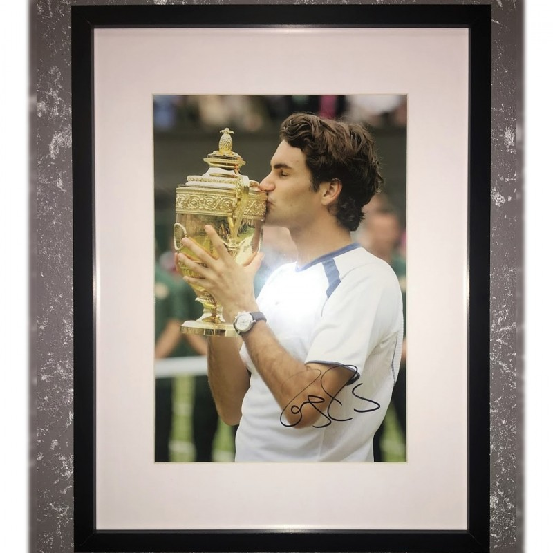 Roger Federer Signed Photograph