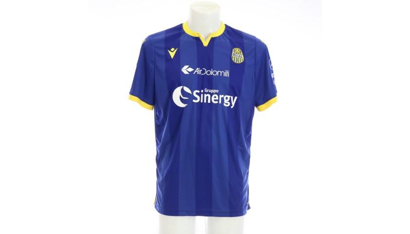 Di Carmine's Match-Issued Shirt, Hellas Verona-Atalanta 2020