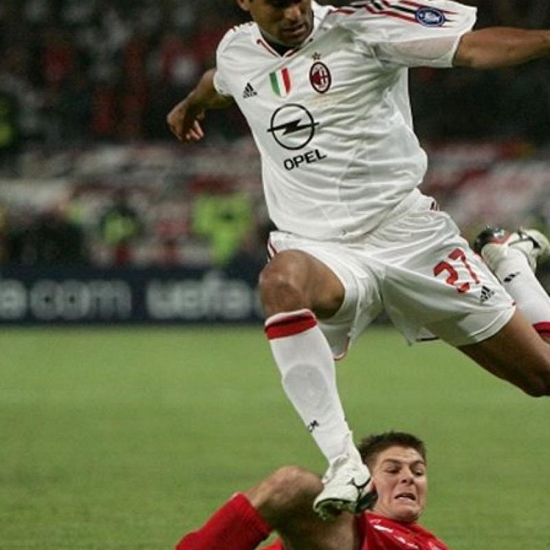 Serginho shirt, issued/worn C.League Final Milan-Liverpool