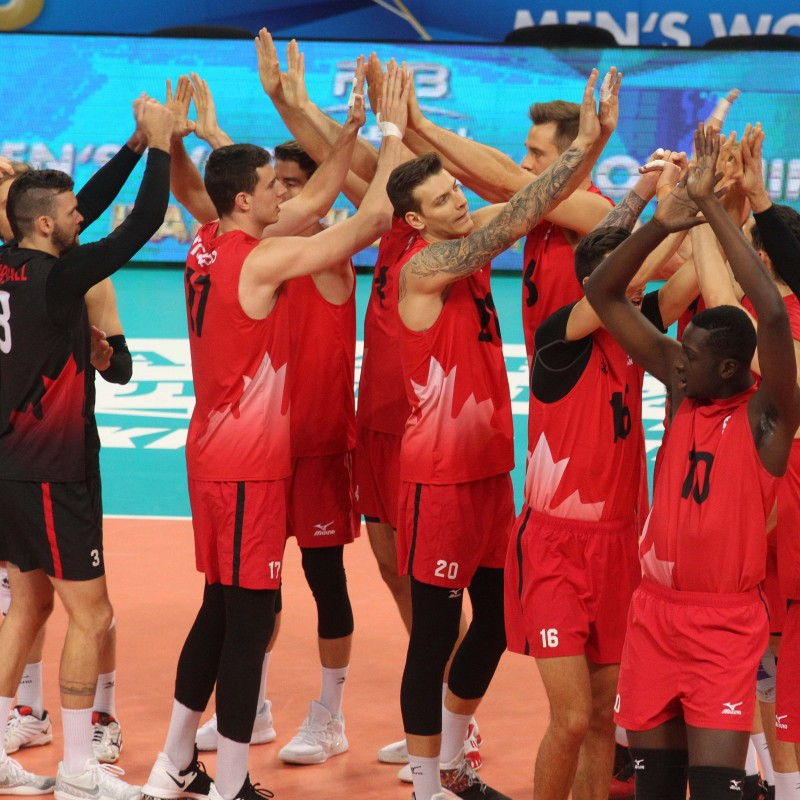 Official FIVB Volleyball Signed by the Canadian National Volleyball Team