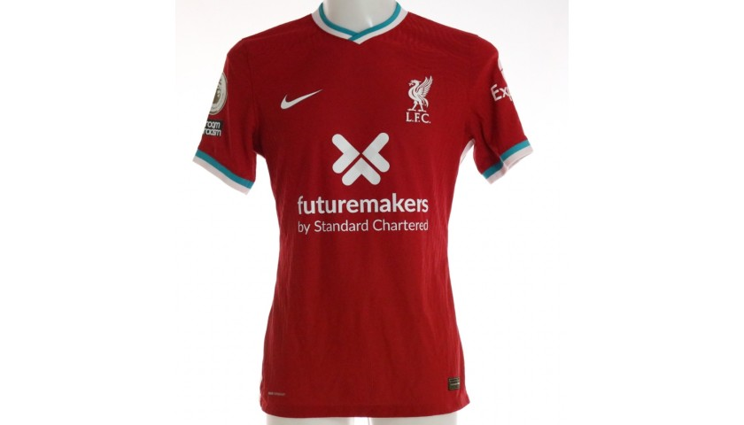 Mane's Liverpool FC Match-Issued and Signed Shirt, Limited Edition 20/21