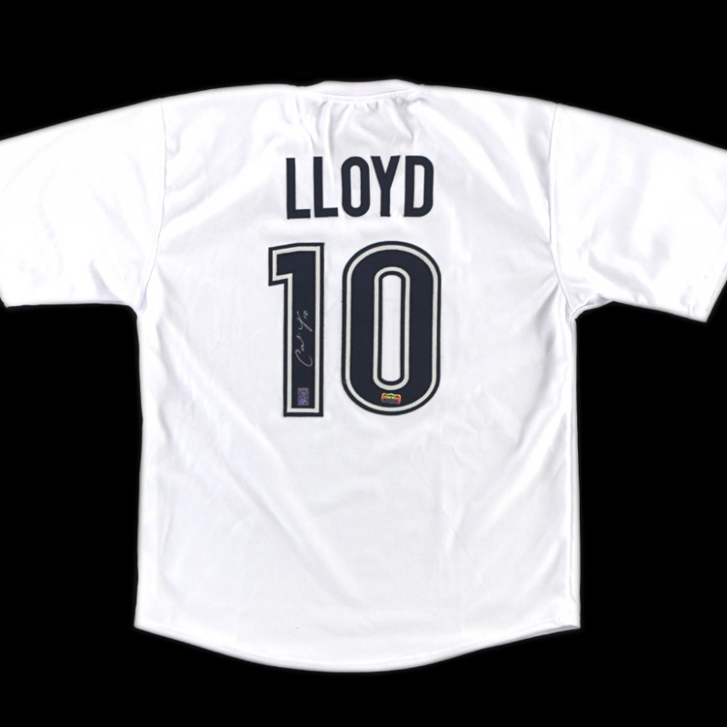Carli Lloyd Signed US Women's Soccer Custom Jersey