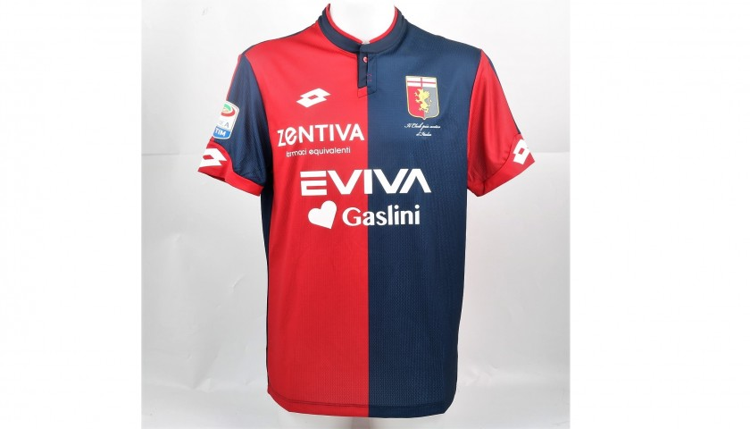 Ricci's UNWASHED Special Genoa-Sampdoria Bench-Worn Shirt