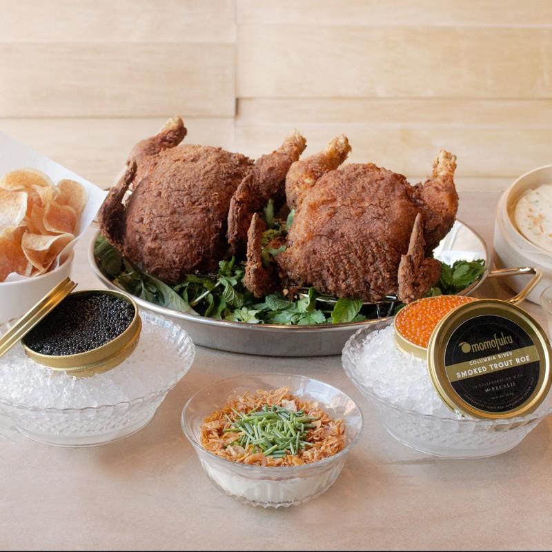 Dinner for 6 at Momofuko