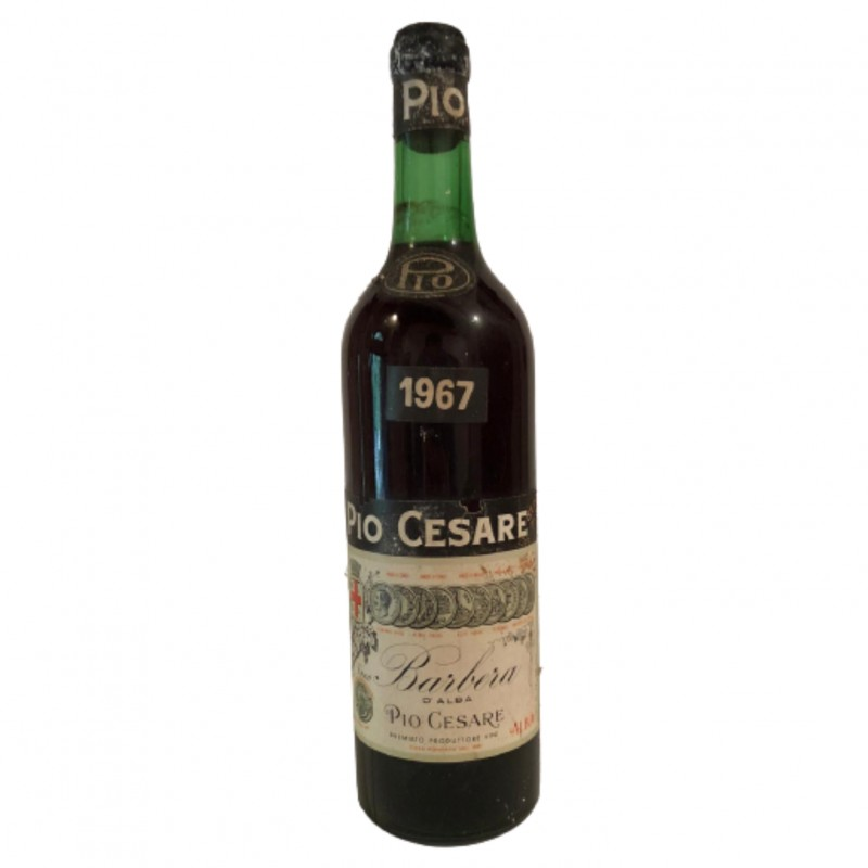 Bottle of Barbera d'Alba, 1967 - Pio Cesare