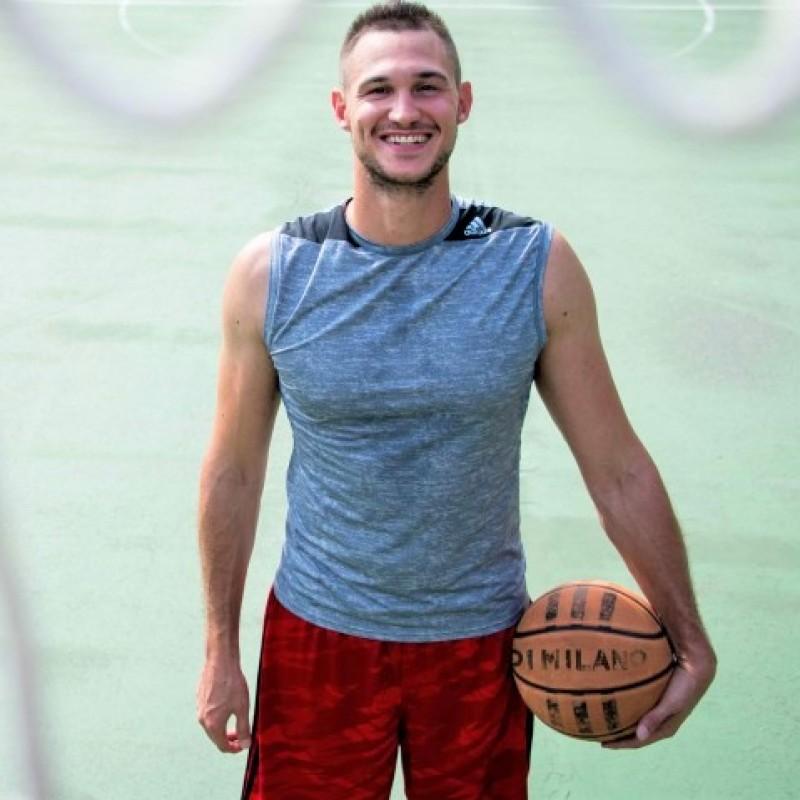 Laureus Official Shirt - Signed by Basketball Star Gallinari