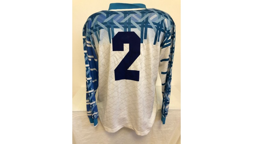 Cannavaro's Official Napoli Signed Shirt, 1994/95