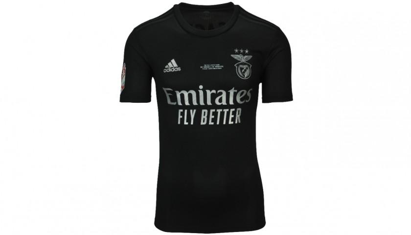 Everton's Worn Shirt, Braga-Benfica 2021