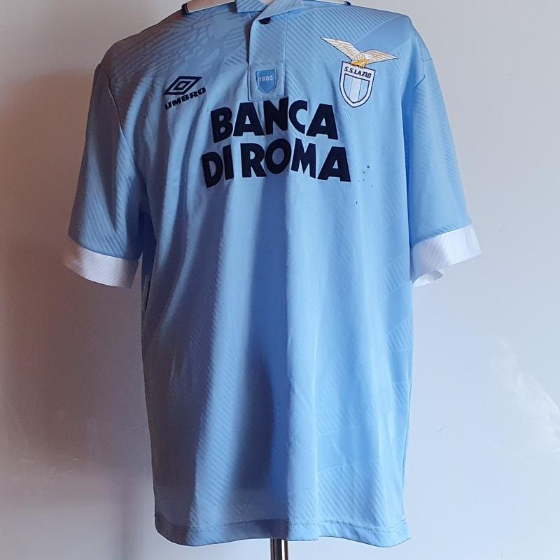 Signori's Lazio Match Signed Shirt, 1994/95