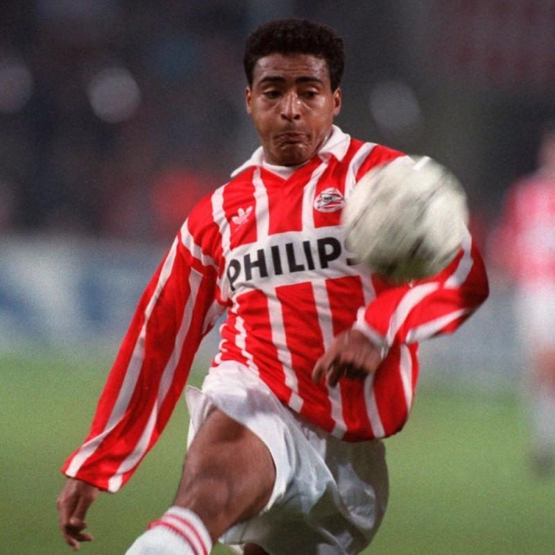 Romario's PSV Worn Shirt, 1991/92