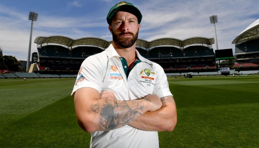 Baggy Green Signed by Matthew Wade