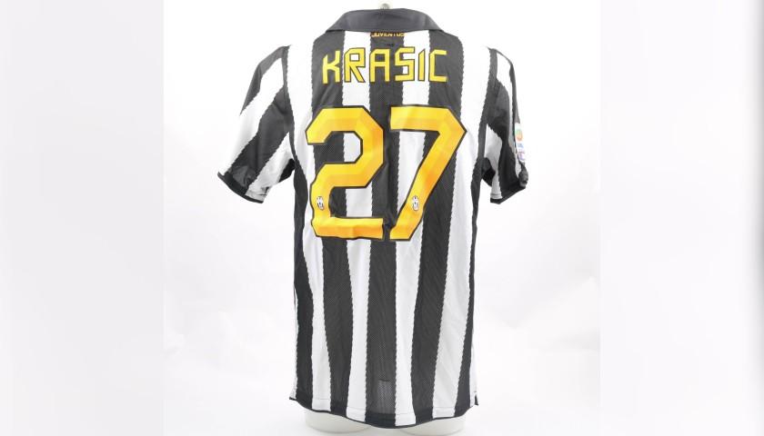 quality design f79e3 557e4 Krasic's Juventus Match-Issue/Worn Shirt, 2010/11 - CharityStars