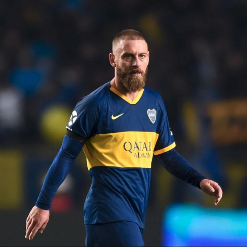 De Rossi's Boca Juniors Match Shirt, 2019/20